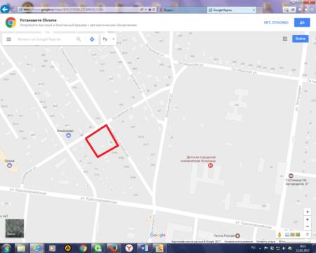 Продается участок. , Благовещенск г, Красноармейская улица 208/3 - Фото 1