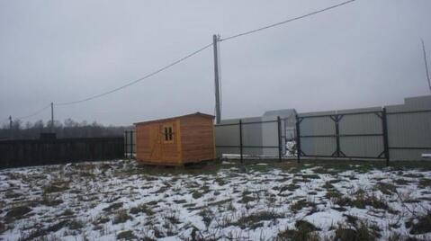 Огороженный участок 15 сот. в деревне, электричество подключено 15 . - Фото 1