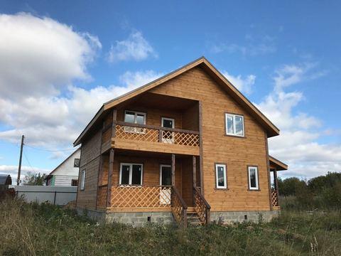 Дом 160 м2, Прописка, Газ, Нововоскресенское - Фото 1