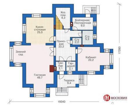 Дом 281 кв.м. на земельном участке 12 соток, г.Москва, кп Подолье - Фото 2