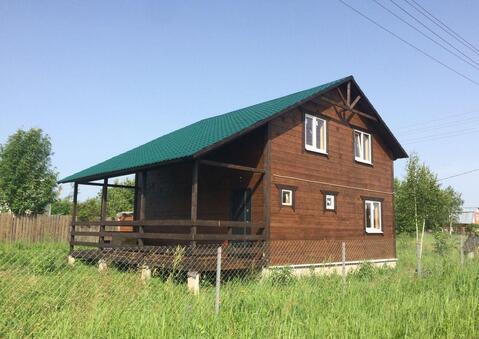 Продается двухэтажная дача 135 кв.м. на участке 8 соток - Фото 1