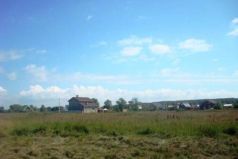 продается участок 11.23 соток в с. ивановское, чеховского района, правильной формы, б...