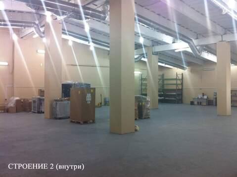 В аренду под склад 5918.4 м2, м. Тульская - Фото 2