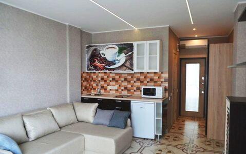 Продается квартира-студия с ремонтом в Алупке - Фото 1