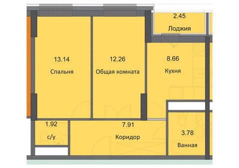 Продам 2-ую квартиру в новостройке, ЖК Циолковский, г. Обнинск - Фото 2