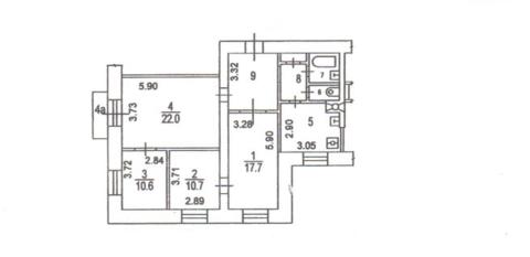 Продажа 4-комнатная квартира Парк Победы - Фото 2