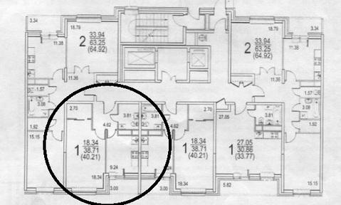 Продается 1к.кв, Радиальная 6-я ул, д. 7, стр. 31, м. Царицыно - Фото 1