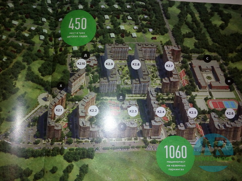 Продается 2 комнатная квартира в ЖК Зеленые Аллеи - Фото 3