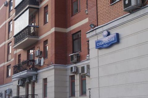 Элитная квартира в центре Москвы. Большой Сухаревский переулок , д. 11 - Фото 4