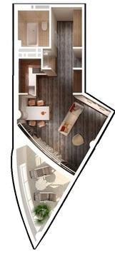 Продам квартиру в Приморском Парке - Фото 2