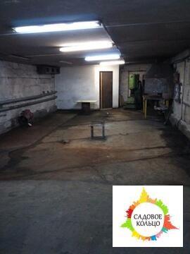 Теплое, отапливаемое помещение, ворота 3 на 2,1 метр, пол бетон, усн - Фото 2