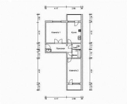 Продается 2-комнатная квартира в мкр. Братеево - Фото 2