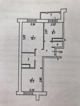 2х комнатная квартира в Сабурово - Фото 4