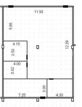 Аренда офиса пл. 182 м2 м. Преображенская площадь в бизнес-центре . - Фото 5