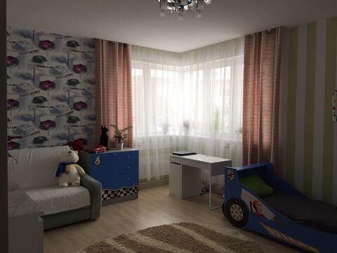 3-х комнатная квартира ЖК Авиатор - Фото 1