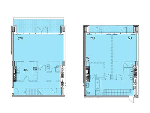 """Продается 3-к. квартира, 156,5 кв.м. в ЖК """"Фили парк"""" - Фото 1"""