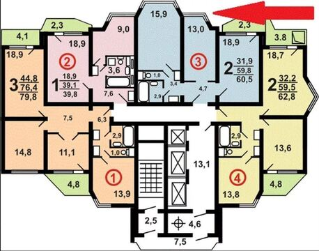 Продам 2-х комнатную квартиру в Бутово 2б
