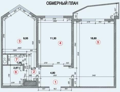 Двухкомнатная Квартира Москва, улица Юбилейная , д.18, нао - . - Фото 2