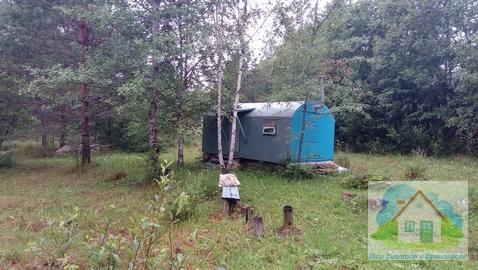 Большой садовый участок с вагончиком - Фото 1