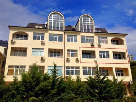 4-х к. элитная квартира у моря Мисхор, Гаспра - Фото 1