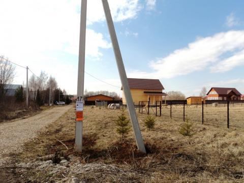 15 соток в деревне Лубенки, Можайское водохранилище, 200 м до берега. - Фото 3