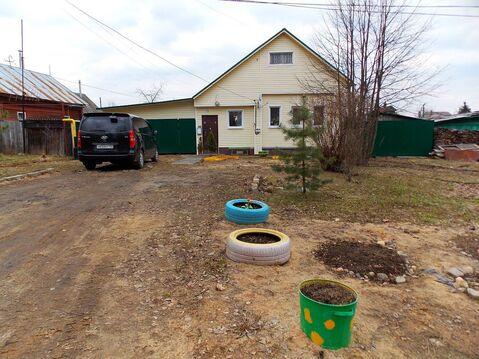 Новый бревенчатый дом с газом и баней в пос. Лежнево - Фото 2
