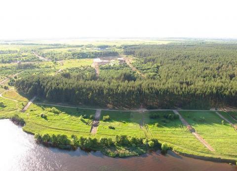 Участок рядом р.Волга и сосновым бором - Фото 1