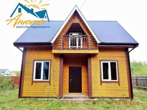 Продается двухэтажный новый дом вблизи деревни Сатино Боровского район - Фото 2