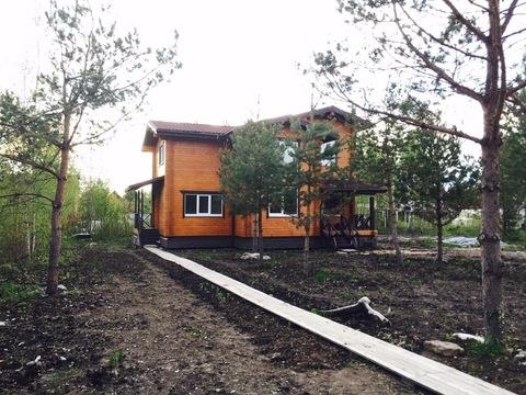 Всеволожский район, массив Блудное, коттедж 160 кв.м. на уч. 10 соток - Фото 1