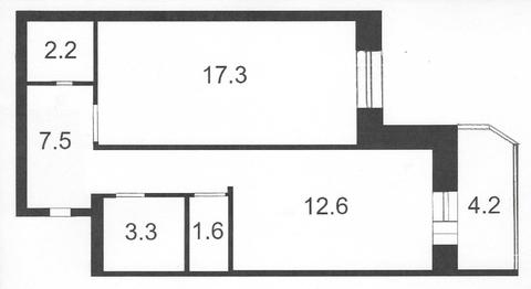 Продажа квартиры, м. Старая деревня, Ул. Мебельная - Фото 2