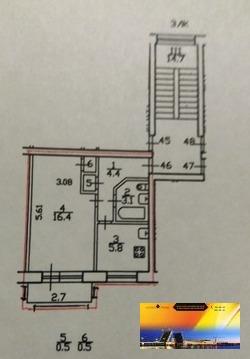 Квартира в Отличном состоянии у метро Ч.Речка по доступной цене - Фото 5