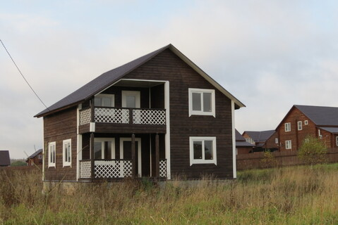 Дом 150 м2, Газ, 15 соток, д. Площево - Фото 1