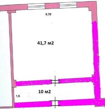 Сдается в аренду офис, 51,7 м2, на 5-ом этаже БЦ на ул.Родионова - Фото 3