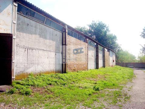 Неотапливаемый капитальный склад 1260,1 кв.м. в Аксайском районе - Фото 1