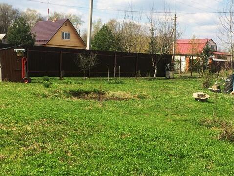 Земельный участок 12 соток с дачным домиком в Домодедовском р-не. - Фото 4