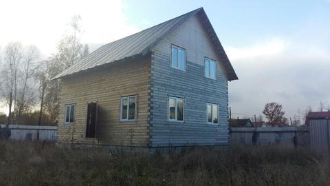 Продается не достроенный дом на 10 сотках земли в городе Кимры. - Фото 3