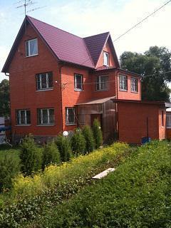 Дом в Чеховском р-не, 240кв.м, 3-х этажный, кирпич. - Фото 4