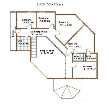 Дом 220м2 в аренду в деревне Богунино - Фото 3