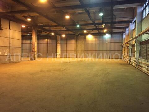 Аренда помещения пл. 1200 м2 под склад, м. Марьина роща в складском . - Фото 1