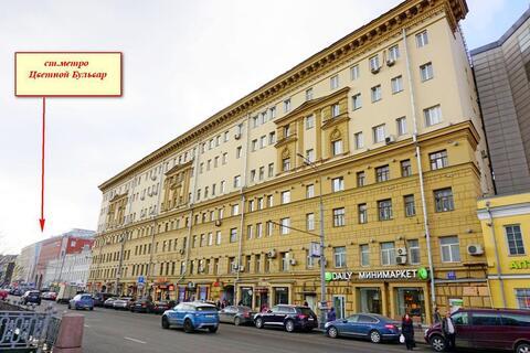 Комната 14 кв м в 1 мин. хотьбы от метро Цветной Бульвар - Фото 1
