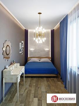 Двухуровневая квартира с террасой 111,7 кв.м, мкр Солнечный, г. Троицк - Фото 4