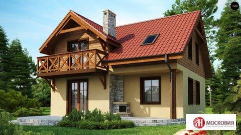 Дом 112м2 на земельном участке 22 сотки в Новой Москве - Фото 1