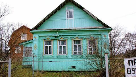 Участок 20 соток с долей дома в деревне Морозово Волоколамского района - Фото 1