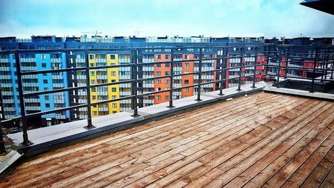 Видовая квартира-пентхаус с личной террасой 66м2 - Фото 2