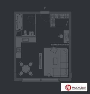 Двухкомнатная квартира свободной планировки Центр Лофт - Фото 1