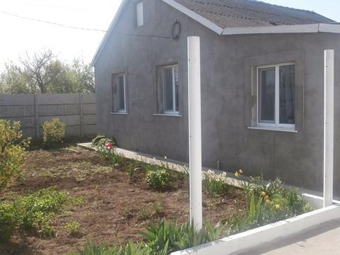 Продам дом в 16 км от Евпатории, с.Воробьево - Фото 1
