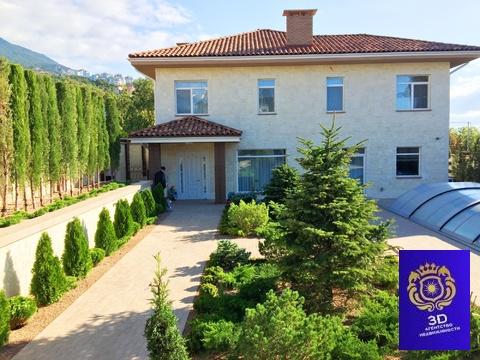Продам шикарный дом новой постройки Ялта - Фото 2