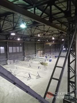 Под склад/производство (1100кв.м, кран-балка, 2 ворот) - Фото 3