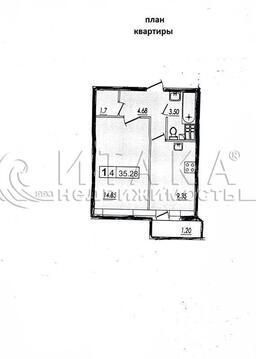 Продажа квартиры, Кудрово, Всеволожский район, Европейский пр-кт - Фото 2