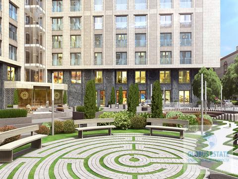 Апартаменты площадью 66,4 кв.м, без отделки в ЖК «Сады Пекина» - Фото 2